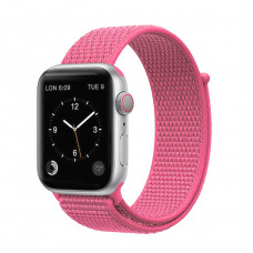 Tactical 546 Látkový Řemínek pro Apple Watch 42-44mm Rose