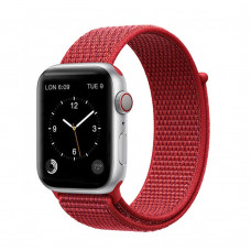 Tactical 545 Látkový Řemínek pro Apple Watch 42-44mm Red
