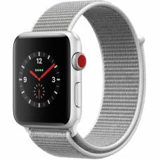 Tactical 547 Látkový Řemínek pro Apple Watch 42-44mm Silver