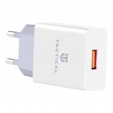 Tactical AR-006 USB-A 2.1A Cestovní Nabíječka White