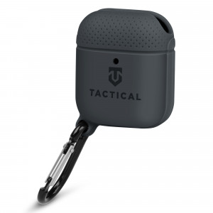 Tactical Velvet Smoothie Pouzdro pro AirPods 1/2 Asphalt