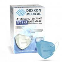 DEXXON MEDICAL Respirátor FFP2 NR svetlomodrá 1ks/bal