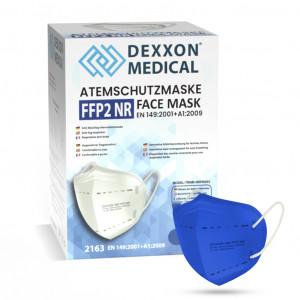 DEXXON MEDICAL Respirátor FFP2 NR modrá 1ks/bal
