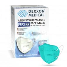 DEXXON MEDICAL Respirátor FFP2 NR svetlozelená 10ks/bal