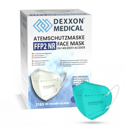 DEXXON MEDICAL Respirátor FFP2 NR svetlozelená 1ks/bal