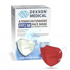 DEXXON MEDICAL Respirátor FFP2 NR červená 1ks/bal