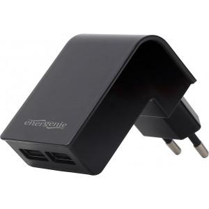 ENERGENIE EG-U2C2A-02 Energenie univerzální USB nabíječka 2.1A, černá