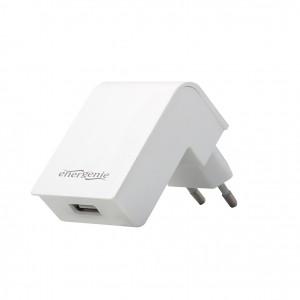 ENERGENIE EG-UC2A-02-W Energenie univerzální USB nabíječka 2.1A, bílá