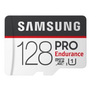 Samsung PRO Endurance microSDXC 128GB  UHS-I U1 + Adapter (EU Blister)