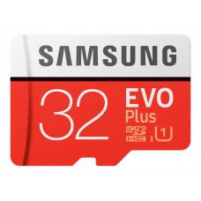 Samsung EVO Plus microSDXC 32GB V30 UHS-I U1 + Adapter (EU Blister)