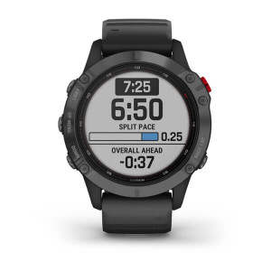 Garmin fēnix6 Pro Glass Slate Gray with Black Band (eco box)