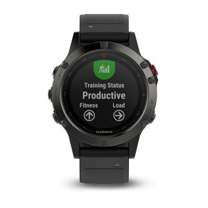 Garmin fēnix5 Slate Gray with Black Band (Eco Box)