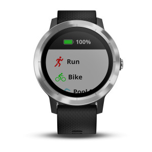 Garmin vívoactive 3 Black with Silver Hardware