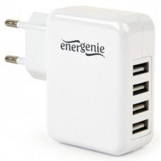 Univerzální USB nabíječka, 3,1 A, bílá (D84)