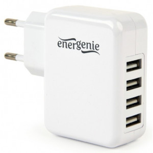 Energenie Univerzální USB nabíječka, 3,1 A, bílá