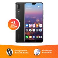 Huawei P20 4GB/128GB Black + 2 dárky ZDARMA!