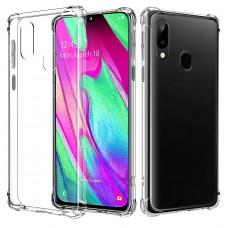 Kisswill Shock TPU Kryt Transparent pro Samsung Galaxy A40