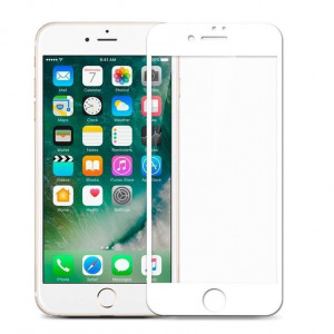Mocolo 5D Tvrzené Sklo White pro iPhone 7 / 8 / SE (2020)