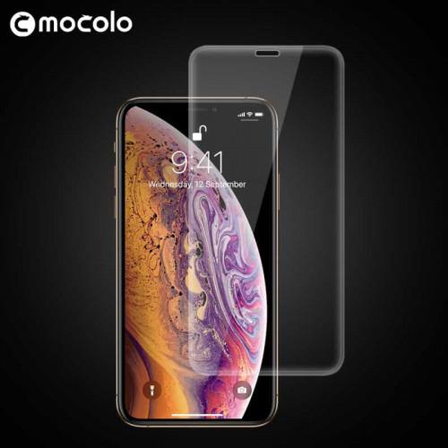 Mocolo 3D Tvrzené Sklo Transparent pro Apple iPhone X / Xs / 11 Pro