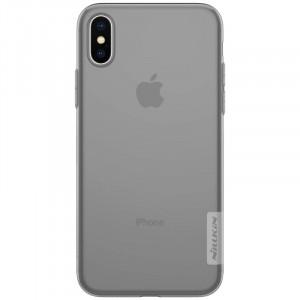 Nillkin Nature TPU Pouzdro Grey pro iPhone X / Xs