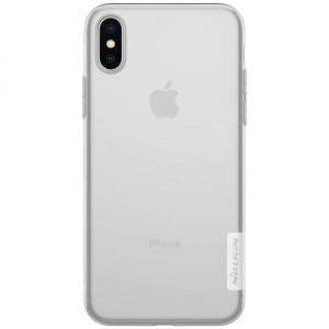 Nillkin Nature TPU Pouzdro Transparent pro iPhone X / Xs