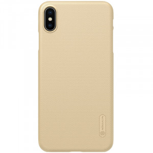 Nillkin Super Frosted Zadní Kryt Gold pro iPhone Xs Max