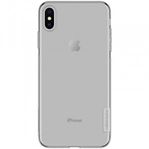 Nillkin Nature TPU Kryt Grey pro iPhone Xs Max