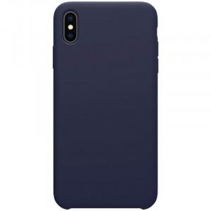Nillkin Flex Pure Liquid Silikonové Pouzdro Blue pro iPhone Xs Max