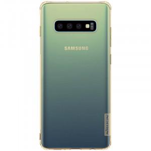 Nillkin Nature TPU Pouzdro pro Samsung Galaxy S10 Tawny