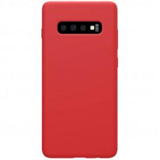 Nillkin Flex Pure Liquid Silikonové Pouzdro Red pro Samsung Galaxy S10