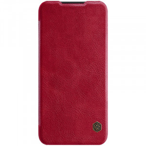 Nillkin Qin Book Pouzdro pro Xiaomi Redmi Note 7 Red