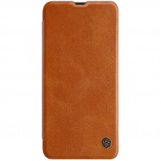Nillkin Qin Book Pouzdro pro Samsung Galaxy A70 Brown