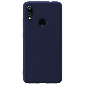 Nillkin Rubber Wrapped Ochranný Zadní Kryt pro Xiaomi Redmi Note 7 Blue
