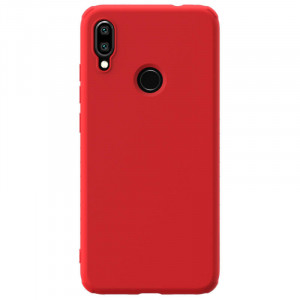 Nillkin Rubber Wrapped Ochranný Zadní Kryt pro Xiaomi Redmi Note 7 Red