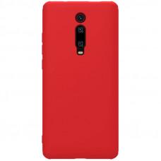 Nillkin Rubber Wrapped Ochranný Zadní Kryt pro Xiaomi Mi 9T / 9T Pro Red