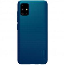 Nillkin Super Frosted Zadní Kryt pro Samsung Galaxy A51 Peacock Blue