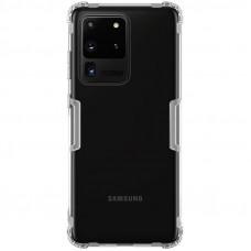 Nillkin Nature TPU Kryt pro Samsung Galaxy S20 Ultra 5G Transparent (Vráceno do 14 dnů)