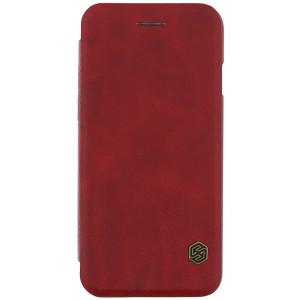 Kožené pouzdro Nillkin Qin pro Apple iPhone 6 / 6s červené