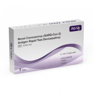 COVID-19 rychlotest antigenu ze slin REALY TECH 1ks/bal