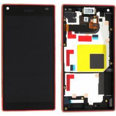 LCD Displej + Dotykové sklo Sony Xperia Z5 Compact E5803 Coral - originál (bulk)