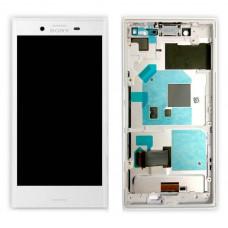 LCD Displej + Dotykové sklo Sony Xperia X Compact F5321 White - originál (bulk)