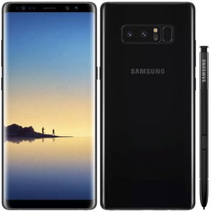 Samsung Galaxy Note 8 N950F 64GB Single SIM Black - CZ Distribuce