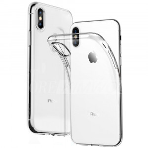 Tactical TPU Pouzdro Transparent pro Apple iPhone Xs Max (EU Blister)