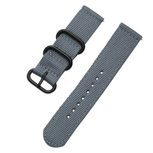 Tactical 409 Nylon Řemínek Grey (EU Blister)