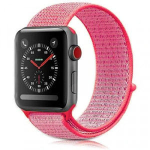 Tactical 535 Látkový Řemínek pro Apple Watch 38-40mm Rose (EU Blister)