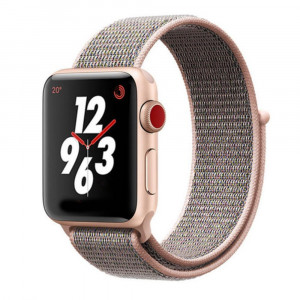 Tactical 529 Látkový Řemínek pro Apple Watch 38-40mm Rose Gold (EU Blister)