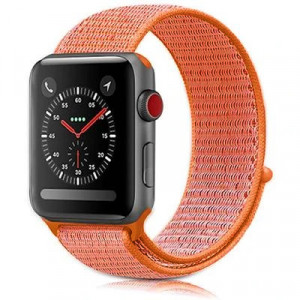 Tactical 532 Látkový Řemínek pro Apple Watch 38-40mm Orange (EU Blister)