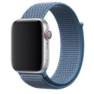 Tactical 528 Látkový Řemínek pro Apple Watch 38-40mm Blue (EU Blister)