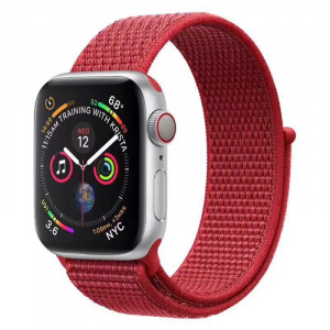 Tactical 534 Látkový Řemínek pro Apple Watch 38-40mm Red (EU Blister)