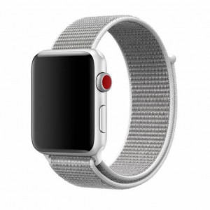 Tactical 536 Látkový Řemínek pro Apple Watch 38-40mm Silver (EU Blister)